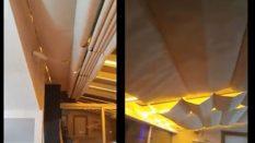 Kastamonu Teras Evler Açılır Tavan Perdesi uygulaması