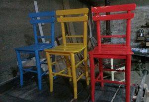 ahşap tahta sandalye